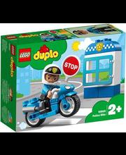 10900 DUPLO Politsei mootorratas
