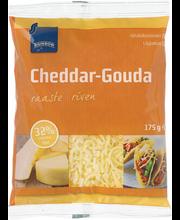 Cheddari-gouda riivjuust, 175 g