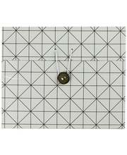 Karp Viiva 8,5x8,5x23,5 cm, valge/must