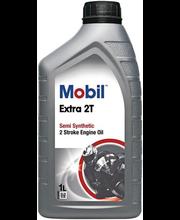 Mootoriõli 2-taktiline Mobil Extra 2T 1 l, poolsünteetiline