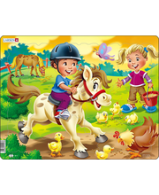 Puzzle Farm: lapsed poniga