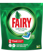 Fairy Original All in 1 nõudepesumasina tabletid 84 tk