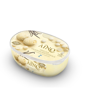 """Koorejäätis """"Vanilli ja valge šokolaadi sosin"""", 900 ml"""