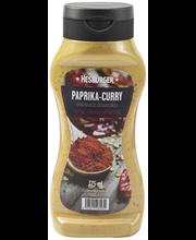 Hesburger salatikaste paprika ja karriga, 375 ml