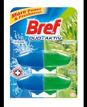 Bref Duo-Aktiv Pine WC-värskendaja täide 2 x 50 ml