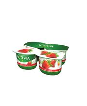 Activia jogurt 4x120g, maasika