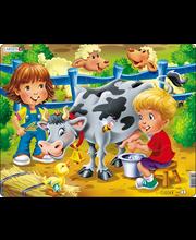 Puzzle Farm: lapsed lehmaga