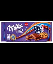 Milka Chips Ahoy! Piimašokolaad 100 g