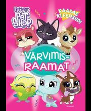 Littlest Pet Shop. Värvimisraamat kleepsudega