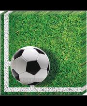 Salvrätik 33cm Football 20 tk