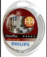 Autolamp H4 VisionPlus 12V 60/55W 2 tk