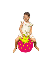 Hüppepall Jumpy Fruits – Maasikas roosa