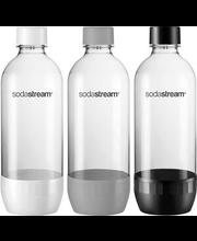Mullimasin Sodastream täitepudelid 1 l, 3 tk