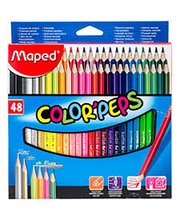 Värvipliiats Maped 48 tk