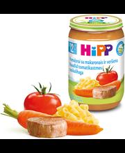 Hipp tomati-nuudli-vasikalihapüree 220 g, alates 12-elukuust
