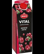Marli Vital jõhvika-viinamarjamahlajook flavonoidide ja tsink...