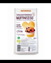 Muffinisegu šokolaaditükkidega 400 g, täistera Öko