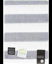 Froteerätik Texture 50x70 cm, hall/valge