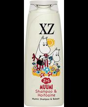 Shampoon+palsam muumi 2in1 250ml