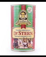 Dr.Stern konserv koertele veiseliha tükid kastmes 1,25kg