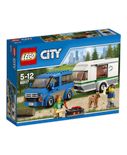 Lego City Furgoonauto ja haagis 60117