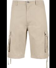 Meeste lühikesed cargo-püksid beež, 36
