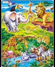 Raampuzzle Safari