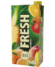 Aura Fresh Multifruit mahlajook, 2l