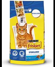 Kuivtoit steriliseeritud kassidele lõhe ja köögiviljadega 1,5 kg