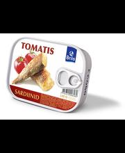Balti sardiinid tomatis 140 g