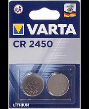 Patarei liitium CR2450 2 tk