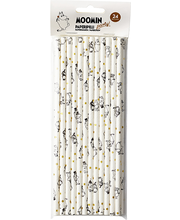 Paberist Joogikõrred 6mm 197mm 24tk Moomin