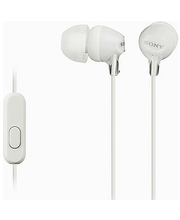 Nööpkõrvaklapid MDR-EX15AP, valge