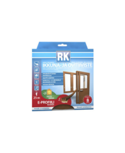 RK akna- ja uksetihend, E-profiil, EPDM, 25 m, pruun