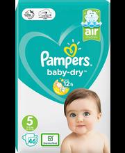 Pampers teipmähkmed Baby Dry 5, 11-16kg, 46 tk