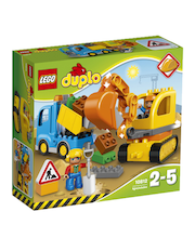 LEGO Duplo Veok ja roomikekskavaator 10812