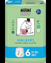 Muumi Baby püksmähkmed Walkers 6, 12-20kg, 36 tk