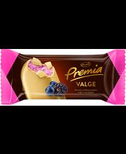 Premium valge šokolaadi ja vaarika jäätis, 75 g