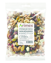 Arimex Premium makadaamia pähklitega segu 300 g
