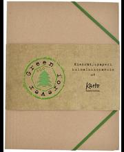 Mapp kummiga Kraft Recycled A4