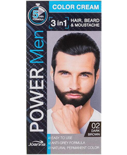 Juuksevärv Power Men 2 Dark Brown