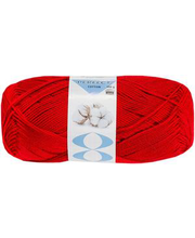 Lõng  Perfect Cotton 100 g, punane
