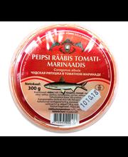 Peipsi rääbis tomatimarinaadis 300 g