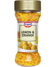 DR.Oetker lemon&orange kaunistusdražeed, 50g