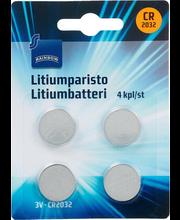 Patarei Litium CR2032, 4 tk