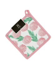 Pajalapp aino roosa/ roheline 20 x 20 cm, 100% puuvill