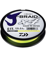 Õngenöör J-Braid X4 E0.17-135Y