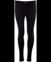 Tüdrukute pikad aluspüksid 230H311629 90 cm, must