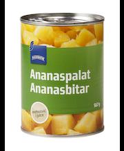 Ananassitükid omas mahlas 567/340 g