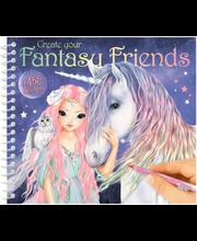 "DEPESCHE Värvi-ja kleebiseraamat ""Fantasy Friend"" 2019"
